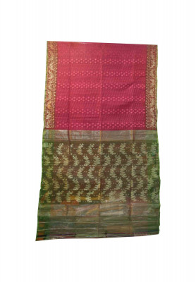 Thread jori party jamdani saree