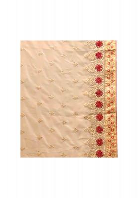 Jori and thread work georgette saree