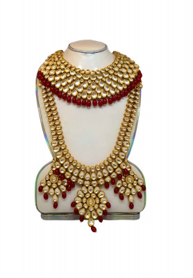 Indian joupuri Sita har & necklace with ear ring